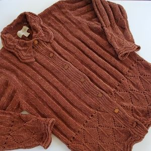 Vintage stitches in time cardigan size large